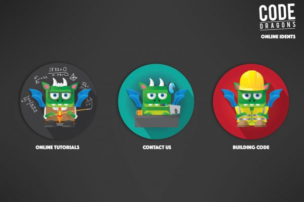 Code Dragons Idents