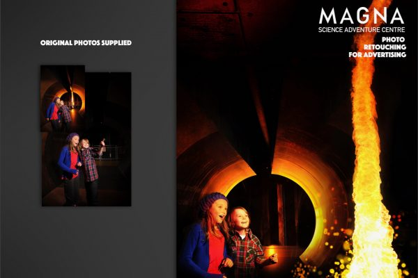 MAGNA FIRE RETOUCHING